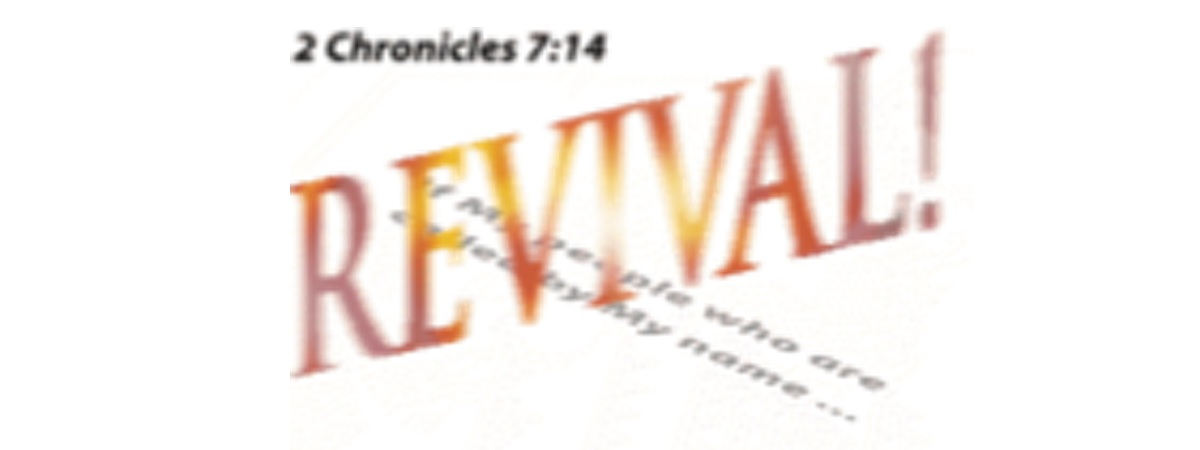 Revival 2 Chr 7:14